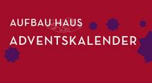 Banner mit Text: Aufbau Haus Adventskalender