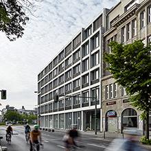 Foto: großes Gebäude Aufbau Haus 84