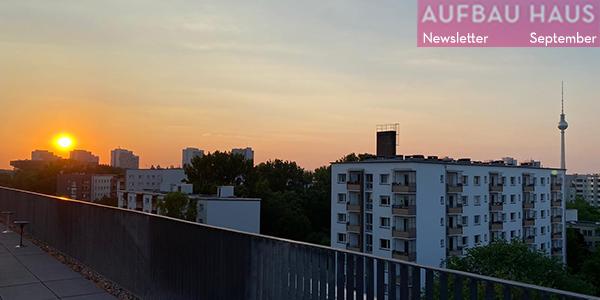 Aufbau Haus Newsletter, September 2021